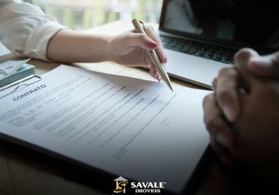 Contrato Comprar Imóvel Financiado Savale Imóveis Capa